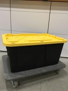Moving bins